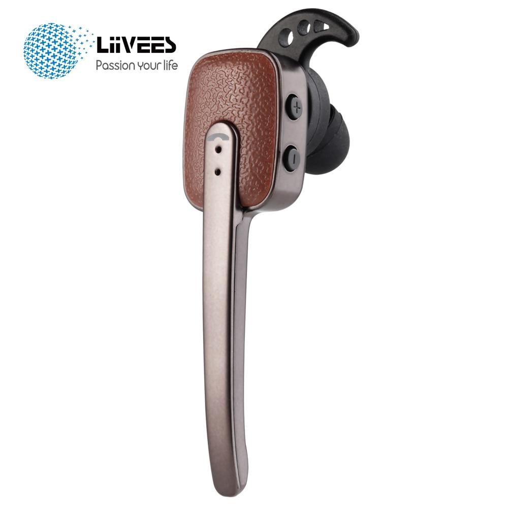 LiiVEES R9030 Business Wireless Bluetooth Earphone Stereo clear Bass Mini In Ear Headsets Mic for Smart