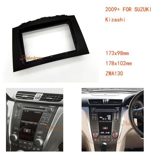 car radio ing kit installation fascia for suzuki kizashi 2009+     on  suzuki