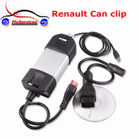 New Arrial V160 Renault Can Clip OBD2 Auto Tool 1:1 Same Clone From Original Board With Golden Edge Supports Multi Language
