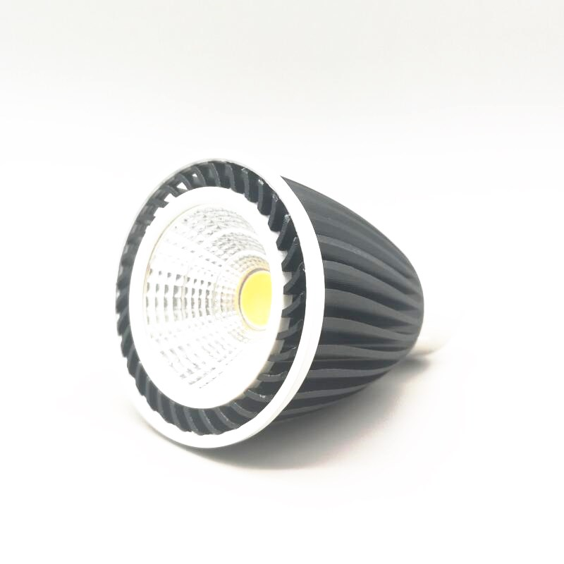 Factory Wholesale LED Bulb E27 GU10 MR16 12V COB LED Spotlight 9W LED Light COB Spot light AC 85-265V For Home Lighting