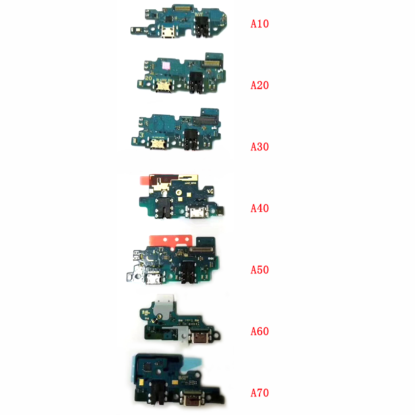 10pcs USB Charging Dock Port Connector Flex For Samsung Galaxy A10 A20 A30 A40 A50 A60
