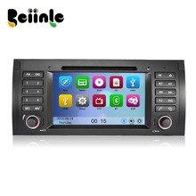 Car 2 Din  DVD GPS Stereo Device Head Unit Navigation Radio Player for BMW X5  M5 E39  E53