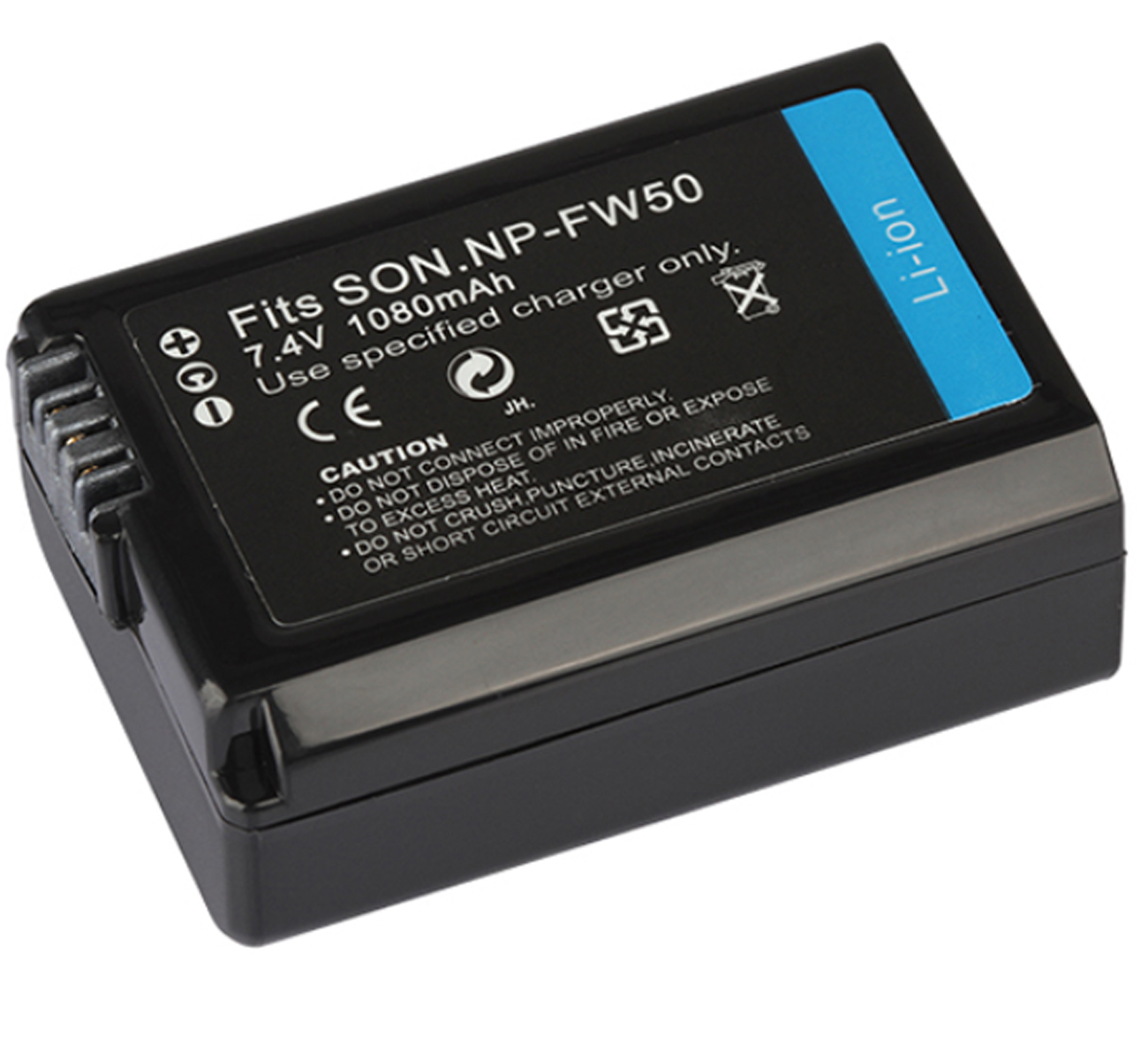 Battery Pack for <font><b>Sony</b></font> <font><b>Alpha</b></font> ILCE-<font><b>3000</b></font>, ILCE-3500, ILCE-5000, ILCE-5100, ILCE-6000, ILCE-6300,ILCE-6500 Mirrorless Digital Camera image