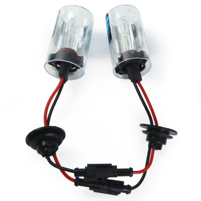 Auto External Lights 5202 / H16 35W Super Bright 6000K 3600lm White Light HID Xenon Lamp Car Headlamp 2pcs with High Quality