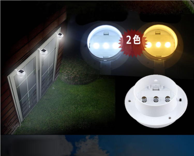 Outdoor Garden Eaves Pathway Lamp Led Solar Ed Fence Gutter Light In Lamps From Lights Lighting On Aliexpress Alibaba Group