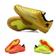 Niños Mens Calzado de Fútbol Para Niños Pista Dura Adultos Zapatos de Deporte Zapatillas de Deporte Al Aire Libre Botines de Fútbol Botas de Fútbol Superflys