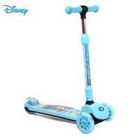 Disney замороженные дети самокат легкий ноги самокат ролл игрушка 3 Колёса детский открытый синий безопасный Бодибилдинг dca61101 q