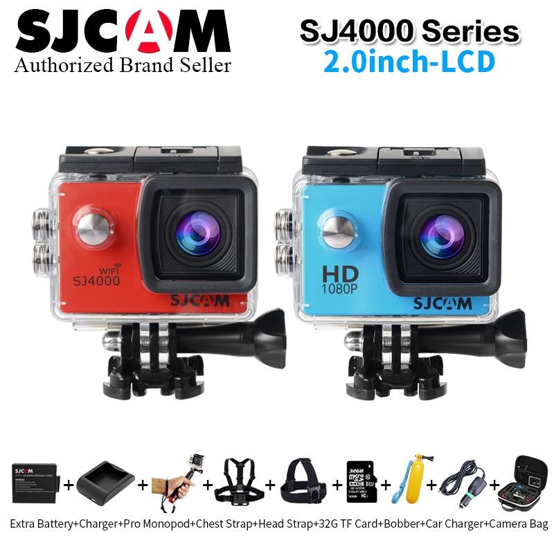 Original SJCAM SJ4000 Wifi / SJ4000 2.0 LCD Screen Action Camera Upgrade SJ CAM 4000 Series 30m Waterproof Mini Sport DV sj4000 series sj4000