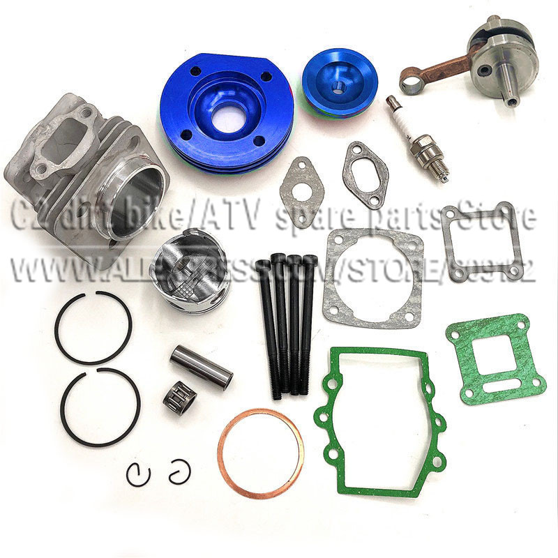 Hohe Leistung 44mm Big Bore Top Ende Kit 49cc 2 Hub Mini ATV Quad Dirt <font><b>Pocket</b></font> <font><b>Bike</b></font> Neue image