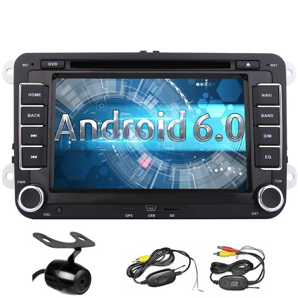 android 6 0 car stereo double 2din 7 39 39 touch screen car. Black Bedroom Furniture Sets. Home Design Ideas