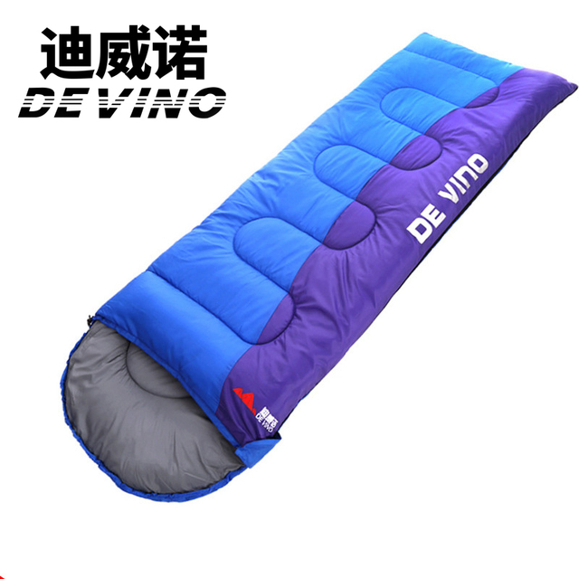 Devino Outdoor Ultralight Envelope Sleeping Bag 210 75cm For Camping Hiking Climbing
