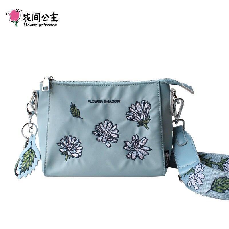 Flower Princess Women Shoulder Bag Designer Handbags High Quality Female Messenger Bag Ladies Crossbody Bags Girls