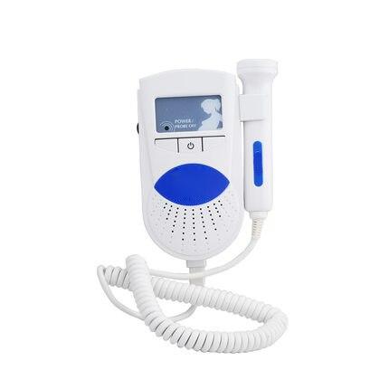 Ciąży Monitor przenośny gospodarstwa domowego narzędzie do pielęgnacji Doppler płodu domu kobiety w ciąży usg częstości akcji serca, aby słuchać ze specjalistami, obrazami diagnostycznymi w Detektory tętna płodu od Uroda i zdrowie na  Grupa 1