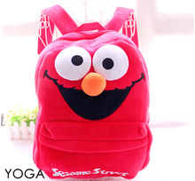 Gift for baby 1pc 45cm cartoon big Sesame street funny plush backpacks students shoulder bag Satchel children toy