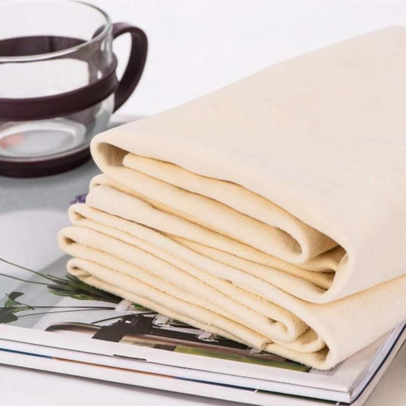 1 шт., многофункциональное полотенце из кожи оленя, салфетка для чистки автомобиля, посуда, салфетка для сухой воды, абсорбирующее полотенце ...
