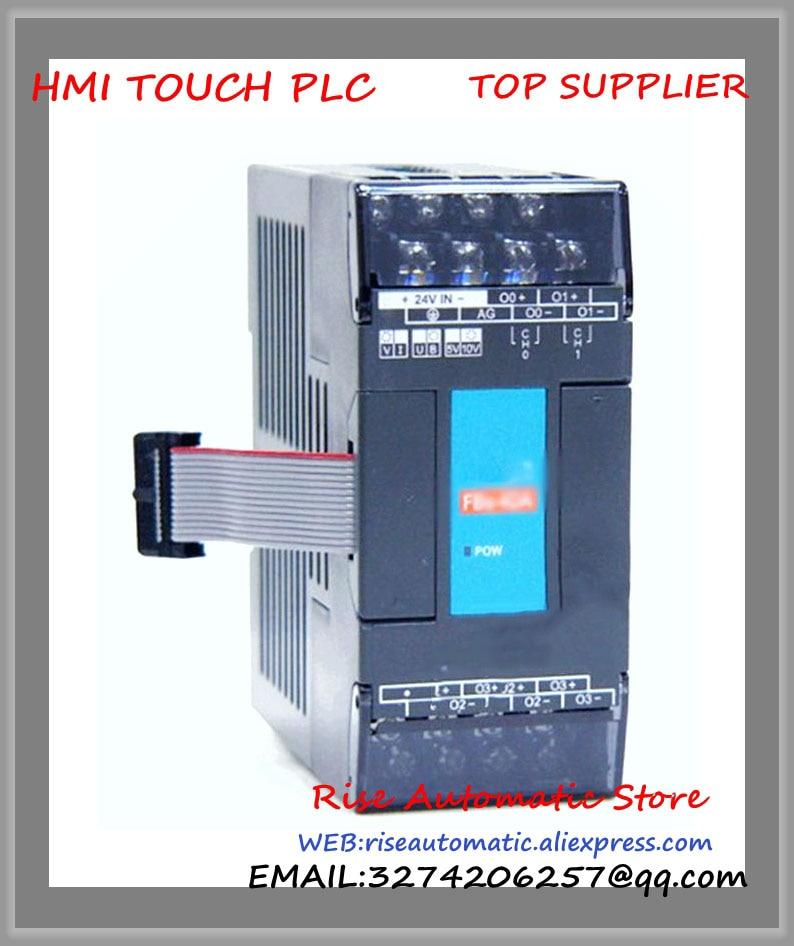 Fatek PLC 24VDC 4 AO Module New in box FBs-4DA fbs 16xyr fatek plc 24vdc 8 di 8 do relay module new in box