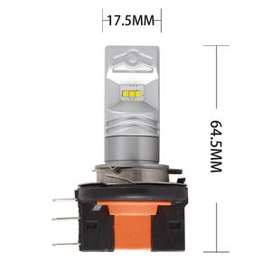 Image 5 - LYMOYO Car H15 with CSP chip 6SMD drl LED auto Fog Lamp Daytime Running Light Turning Bulb Headlight For Audi BMW Mercedes DC12V