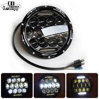 CO LIGHT 7 INCH ROUND LED HEADLIGHT 75W 35W HIGH LOW BEAM H4 H13 10 30V