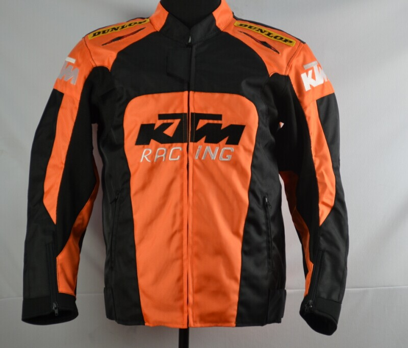 New Moto GP motorcycle KTM Racing road Jacket size M XXXL - Ride all over the world store