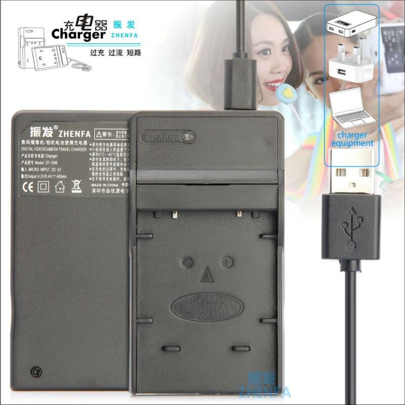 Zhenfa USB chargeur de batterie pour PENTAX D-Li63, D-L163 D-Li108, D-L1108 D-BC108 D-BC63, occasion d'occasion  Livré partout en France