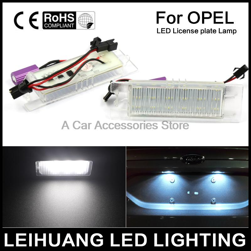 LED Number License Plate Light For Vauxhall Opel Corsa C D Astra H J Zafira B tool 15 sets of household portfolio tools promotional gift set