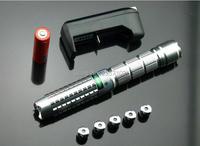 NEW green laser pointer 5000m 5w High power Military 532nm Lazer focusable light Burning match,burn cigarettes+5 caps+gift