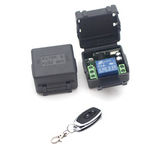 где купить New 433Mhz Universal Wireless Remote Control Switch DC 12V 1CH relay Receiver Module RF Transmitter 433 Mhz Remote Controls дешево