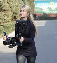 DSLR Rig Movie Kit Shoulder Mount Holder Easy For Shooting Camera /DV Free Shipping цена и фото