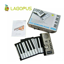 lagopus ROLL-UP Soft Electronic USB Piano Organ Keyboard New 61 Keys