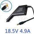 90 Вт 18.5 В 4.9А 4.8*1.7 мм Автомобильное Зарядное Устройство Автомобильный Адаптер Для Ноутбука Зарядное Устройство для Hp Compaq V3000 520 CQ515 HP500 hp530 V2000 V3100