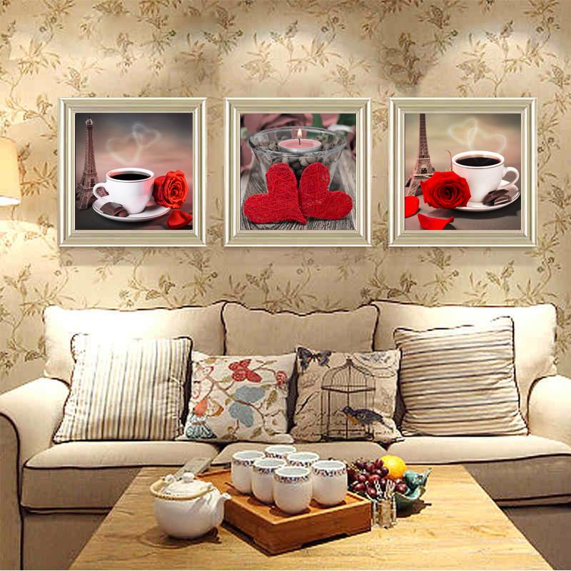 classico caff rosa poster e stampe per la cucina tela dipinti sul muro arte pittura 3