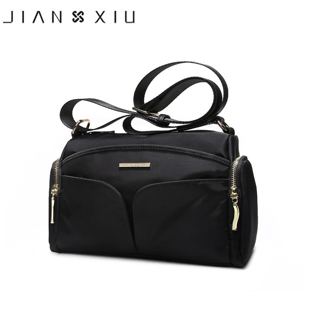 JIANXIU Brand Women Handbag Bolsa Feminina Casual Shoulder Crossbody Bag Sac a Main Bolsos Mujer Tassen 2017 New Nylon Big Borse