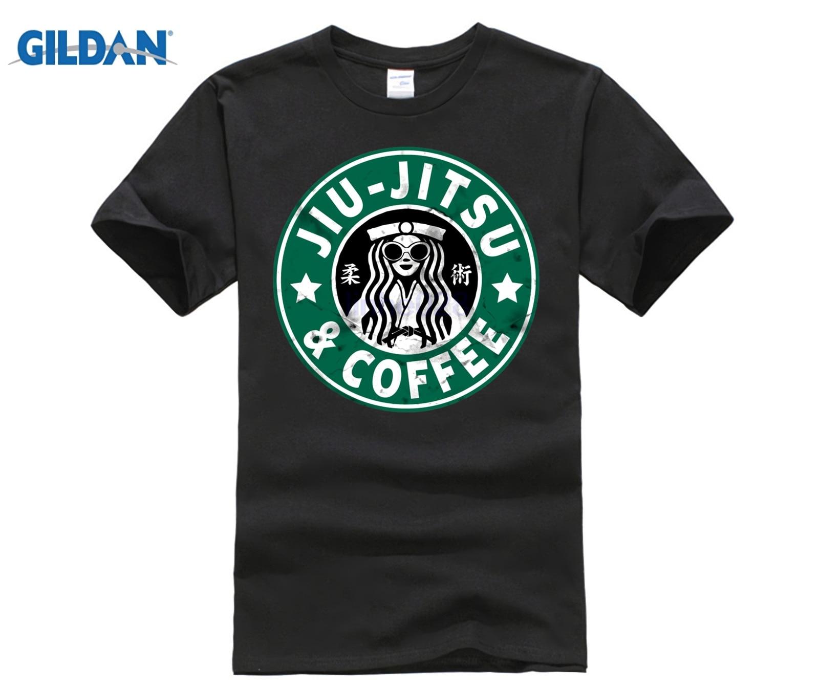 GILDAN JIU JITSU AND COFFEE FUNNY BRAZILIAN JIU JITSU   T     Shirt