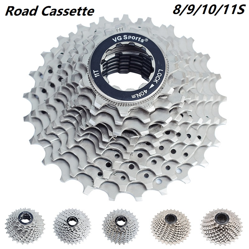 Road bike 8 9 10 11 Speed Cassette 11-25T 26T 28T 32T <font><b>36T</b></font> Bicycle freewheel <font><b>Sprocket</b></font> cogs cdg freewheels Bike Parts image