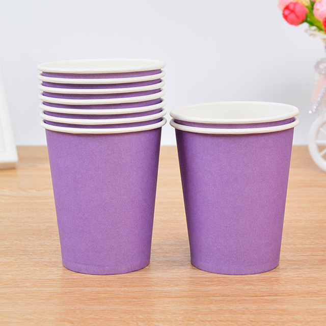 Colourful Party Cups Set