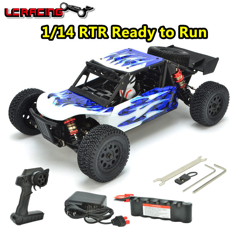 LC RACING/Tacon 1:14 EMB DTH Brushless motor Off Road 4WD RC Car DT Chassis RTR assembled Professional control toys