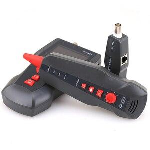 Image 2 - NF 8601W Многофункциональный тестер сетевых кабелей типа al с функцией POE и PING, тестер сетевого кабеля RJ45 LAN для BNC PING POE RJ11