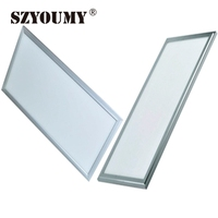 SZYOUMY Ultra Slim LED Panel Light 18W 24W 36W 42W AC85 265V Led Recessed Light SMD2835 300X600 300X1200mm LED Downlights