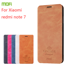 For Xiaomi Redmi Note 7 Case MOFI Flip Leather pro PU Cover