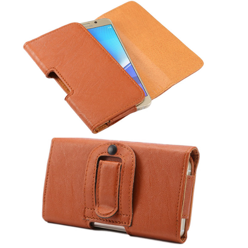 Z5 Compact Phone Bag Protective Case PU Leather Belt Clip Wallet Cover for Sony Xperia Z5