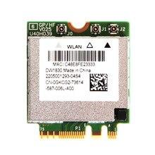 BCM943602BAED DW1830 AC BCM94360 NGFF M.2 1300 Мбит/с BT4.1 WiFi беспроводная карта лучше, чем BCM94352Z DW1560 Поддержка mac os