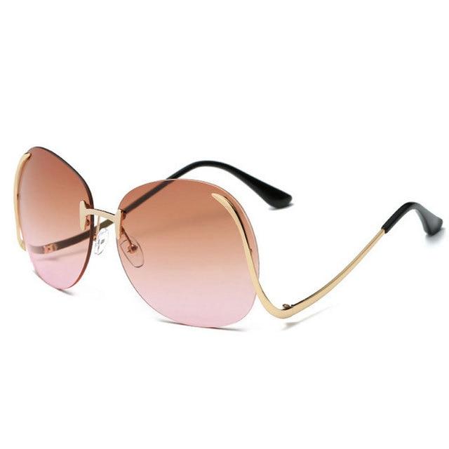 c85094ce4b Fancy Outeye Brand New Sunglass Women Retro Steampunk Summer Beach UV400 Sunglasses  Women Goggle Eyeglass Lunette feminino
