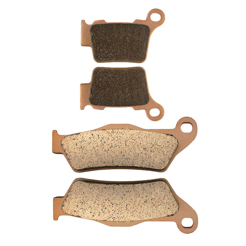 Motorcycle Front and Rear Brake Pads for KTM EXC 125 SX 125 2004-2008 Sintered Brake Disc Pad motorcycle front and rear brake pads for ktm sx 125 sx125 1994 2003 sx 250 sx250 1994 2002 black brake disc pad