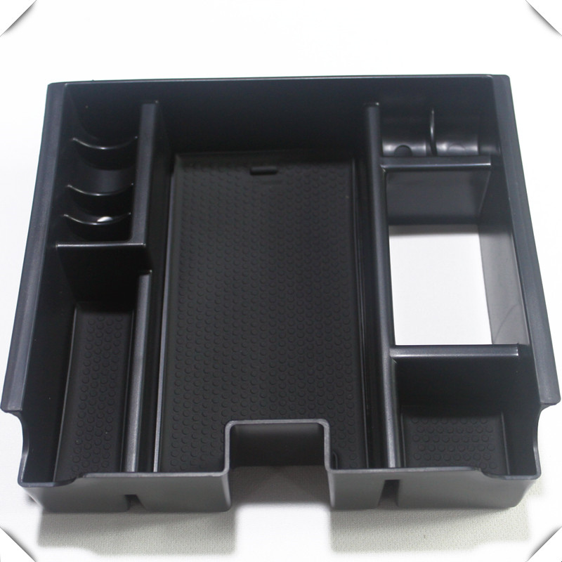 Fit For Jaguar XF 2010-2015 Car Styling Glove Central Armrest Organizer Storage Box Container 1pcs Auto Accessories