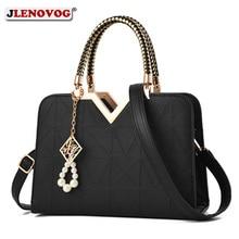 Women's Luxury Designer PU Leather Shell Tote Famous Brand Handbag for Women 2019 Lady Office Black White Crossbody Shoulder Bag