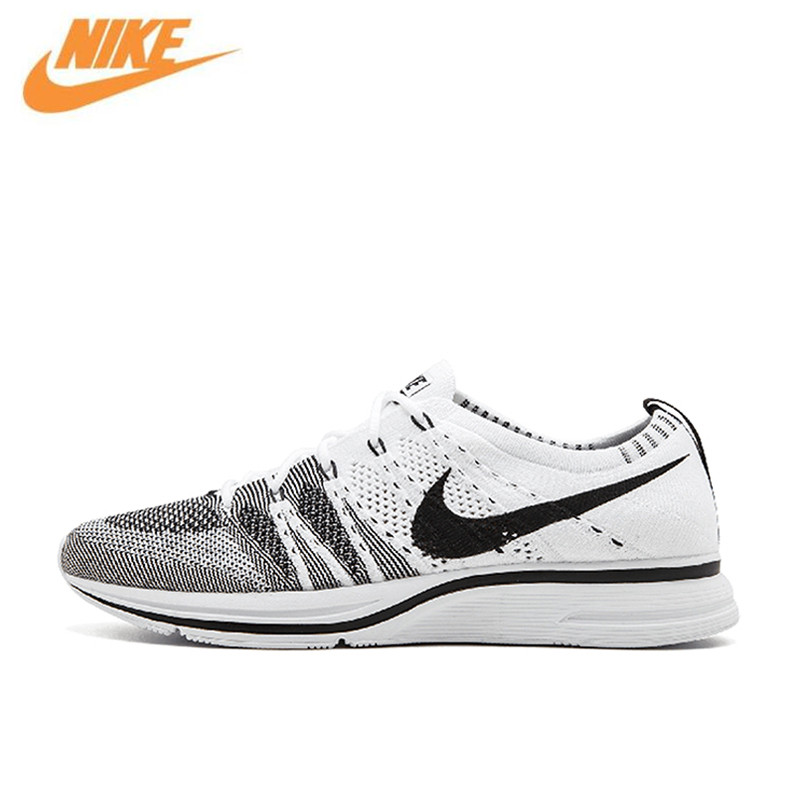 Nike Flyknit Trainer Mens Breathable Original New Arrival Official Running Shoes Sports Sneakers AH8396-100