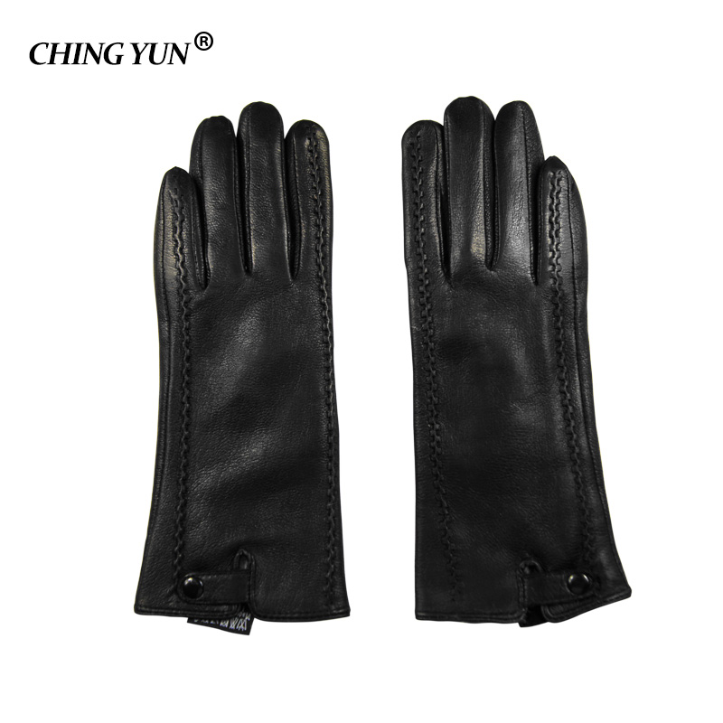 Ultimate SaleGloves Lining Warm Winter Women's Genuine-Leather Rabbit-Fur Female High-Quality-Mittens