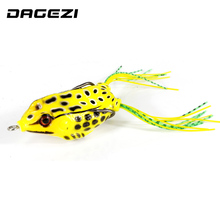 DAGEZI 10 Size fishing lure Lifelike Topwater Fishing Lure  fishing Lures pesca Crankbait Hooks Bass Bait fishing Tackle