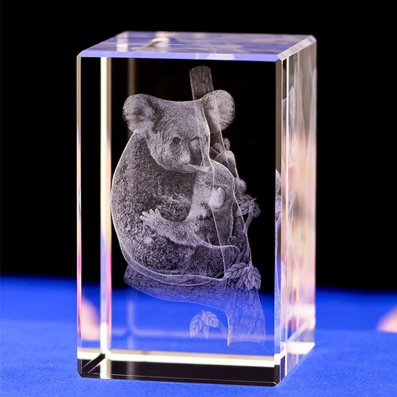 Cute koala Crystal night Light Lovelty Night Lamp with light base Amazing Led Light Lamp ...