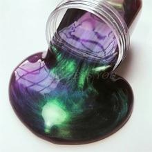 Хамелеон слизи DIY набор блеск порошковый наполнитель украшения игрушки пигмент жемчужный краситель порошок Сделай Сам мыло ручной работы окрашивающий порошок